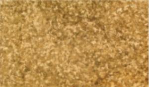 Gefüge von Naturgold - nach schmieden