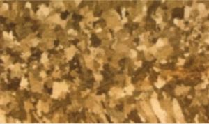 Gefüge von Naturgold - vor schmieden