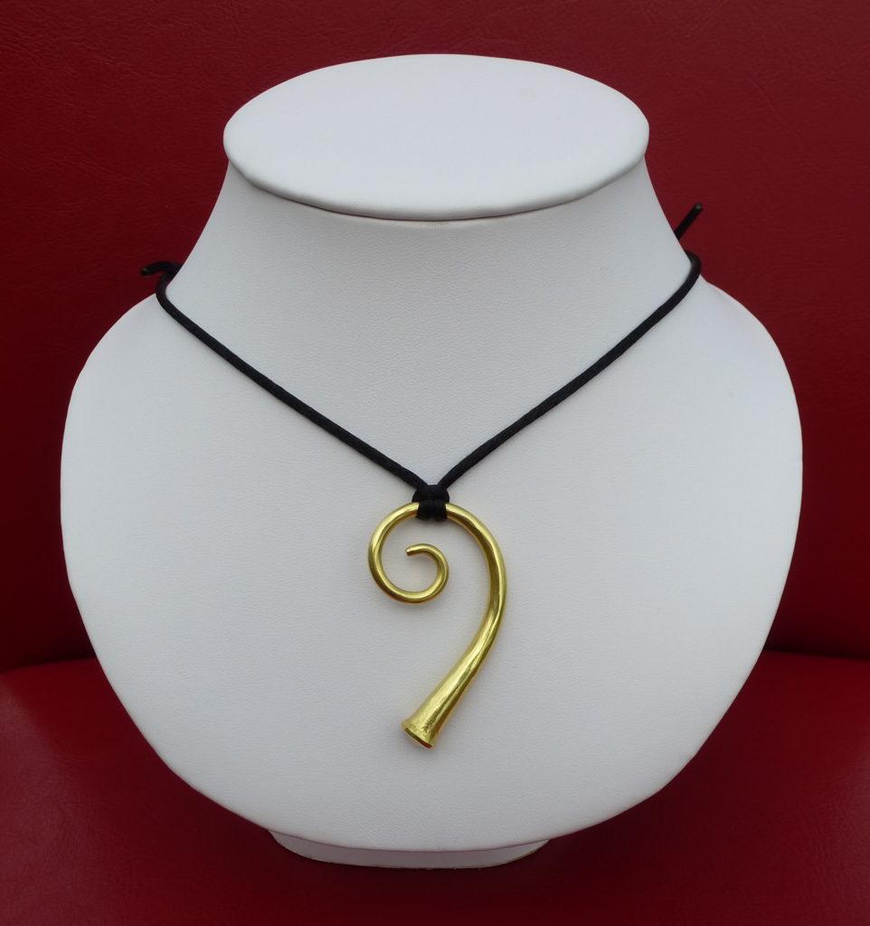 Amulett aus Schweizer Naturgold